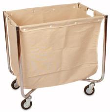 pesukäru riidest kotiga
