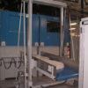 konveier tõstuk pressist tulevate pesutablettide liinikuivatitesse JENSEN DT90 viimiseks